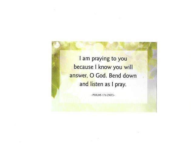 Saturday Prayer